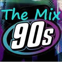 Logo of radio station The Mix 90s