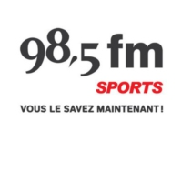 Logo of radio station 98.5 FM Sports