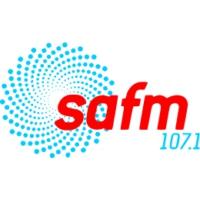 Logo of radio station SAFM 107.1