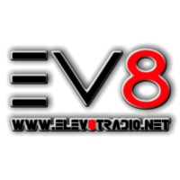 Logo of radio station elev8tradio