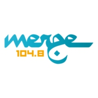 Logo of radio station Merge 104.8