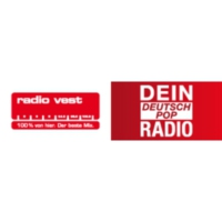 Logo of radio station Radio Vest – Dein DeutschPop Radio