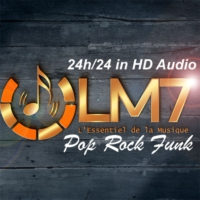 Logo of radio station LM7