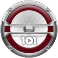 Logo of radio station 101.ru - Kasta
