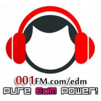 Logo de la radio 001FM.com - Pure EDM Channel