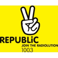 Logo de la radio Republic Radio 100.3