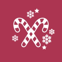 Logo de la radio 100 % American Christmas