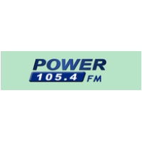 Logo de la radio Power 105.4 FM