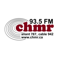 Logo of radio station 93.5 CHMR