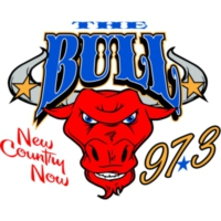 Logo de la radio KRJK The Bull 97.3
