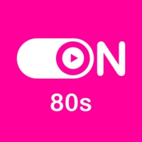 "Logo of radio station ""ON 80s"""