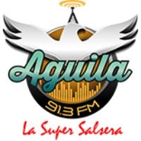 Logo de la radio AGUILA 91.3 FM