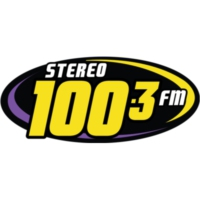 Logo of radio station XHSD-FM Stereo 100.3