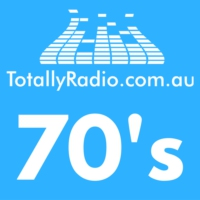 Logo of radio station Totally Radio 70's