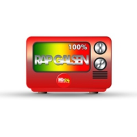 Logo of radio station 100%  RAP GALSEN