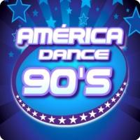 Logo de la radio América Dance 90's