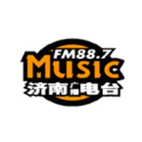 Logo of radio station Jinan Music Radio 88.7