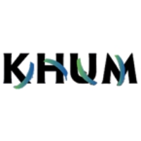 Logo of radio station KHUM