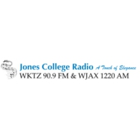 Logo de la radio WJAX Jones College Radio 1220 AM