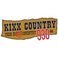 Logo de la radio CJYQ-AM 930 KIXX Country