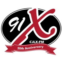Logo of radio station 91X
