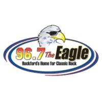 Logo of radio station WKGL The Eagle 96.7
