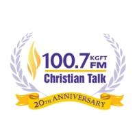 Logo of radio station KGFT