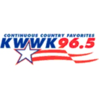 Logo of radio station KWWK Quick Country 96.5