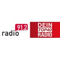 Logo of radio station Radio 91.2 – Dein Top40 Radio