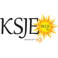 Logo of radio station KSJE 90.9 FM