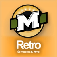 Logo of radio station La Mega Retro