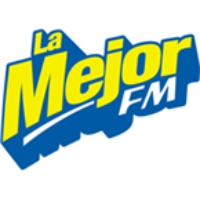 Logo of radio station La Mejor FM Veracruz
