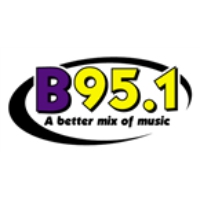 Logo of radio station KBBY B 95.1