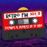 Logo of radio station XHMAB Retro Fm 101.3