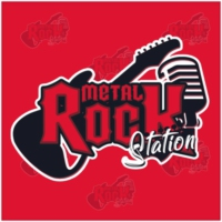 Logo of radio station Metal Rock Station