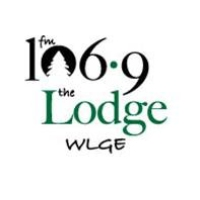 Logo de la radio WLGE The Lodge 106.9