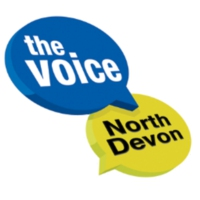 Logo of radio station The Voice North Devon