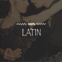 Logo of radio station 100FM - Latin