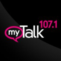 Logo of radio station KTMY 107 FM
