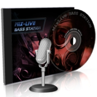 Logo of radio station Bass Station DnB on MixLive.ie