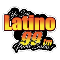 Logo of radio station LATINO 99 FM