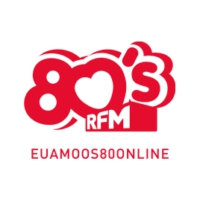 Logo of radio station RFM - 80s