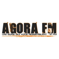 Logo of radio station Agora FM Montpellier