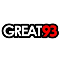 Logo of radio station GREAT 93 FM