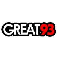 Logo of radio station GREAT 93 FM