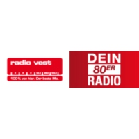 Logo of radio station Radio Vest – Dein 80er Radio