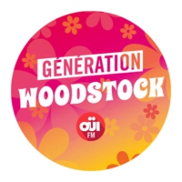 Logo de la radio OUI FM Génération Woodstock