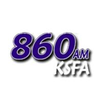 Logo of radio station News Talk 860 KSFA