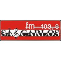 Logo of radio station São Carlos FM