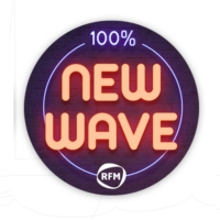 Logo of radio station RFM 100 % New Wave